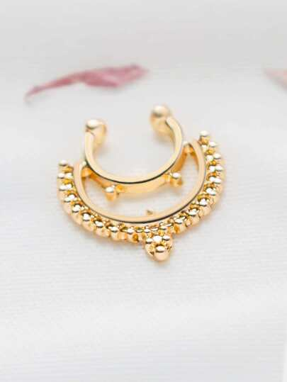 Gold Delicate Nose Ring