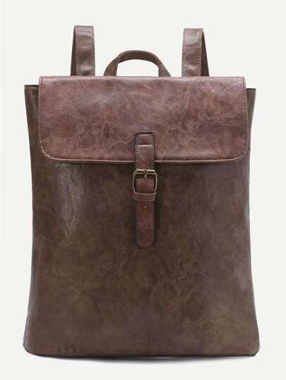 حقيبة الظهر جلد PU