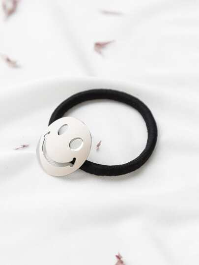 Face Hollow Out Cute Hair Tie