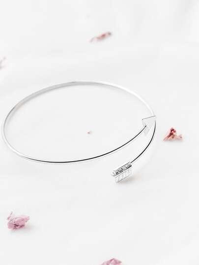 Silbernes Arrow-Armband