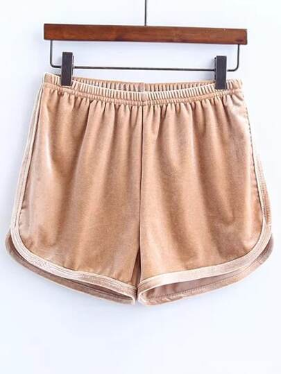 cachi elastica pantaloncini di velluto