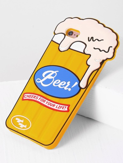 Caso 6plus Beer iPhone Coppa design