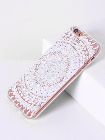 Stammes- Muster iPhone 6 / 6s Fall