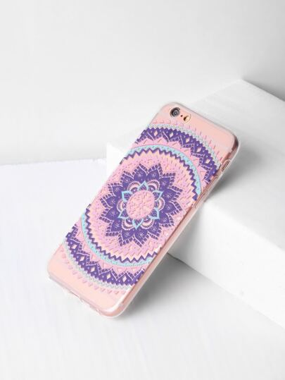 Cover per iphone 6/6s con stampa di fiore