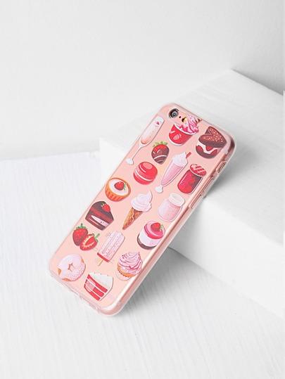 Snacks und Frucht-Druck iPhone 6 / 6s Fall