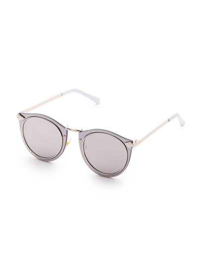 Double Frame Grey Lens Sunglasses