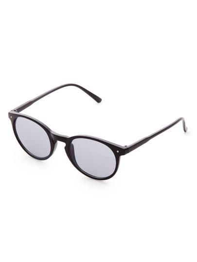 Lunettes de soleil Black Frame Grey Lens