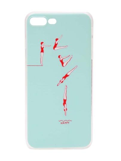 Funda para iPhone 7 Plus con estampado de salto