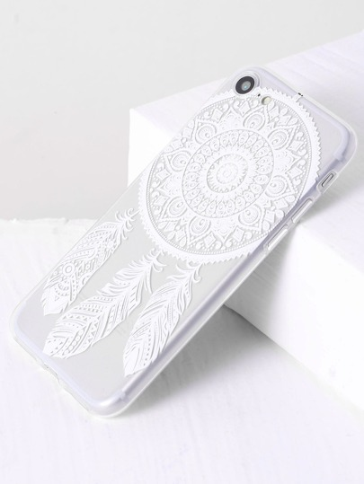Feather Pattern iPhone 7 Case