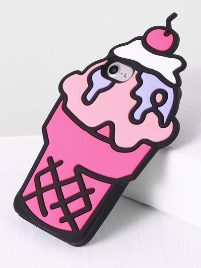 Eis geformter iPhone 7 Kasten