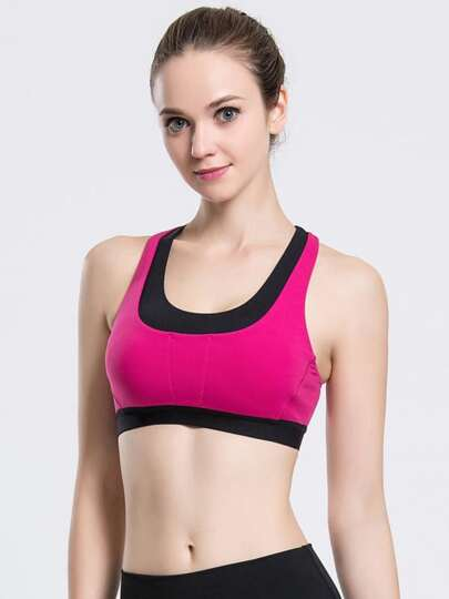 Soutien-gorge Crossover Color Block