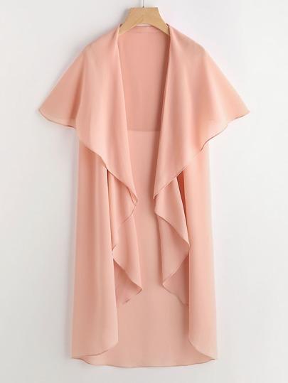 Kimono longue chute d'eau de la couche de ligne