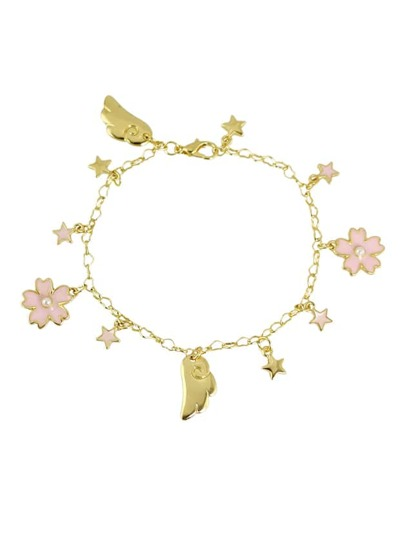 New Style Gold Enamel  Flower Shape Charms Bracelets