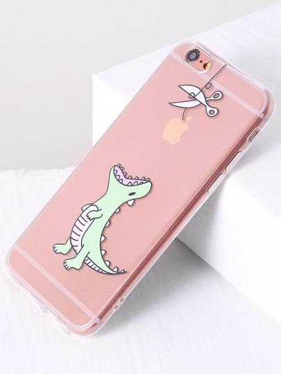 Dinosaurier-Druck iPhone 6 / 6s Kasten