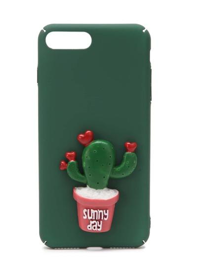 Модный чехол для iPhone 7 Plus с кактусом
