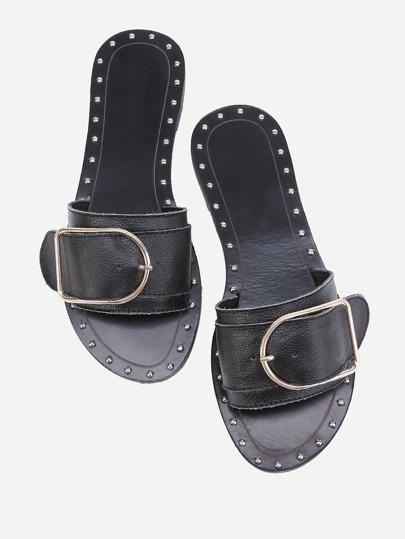 Sandali alla moda - nero
