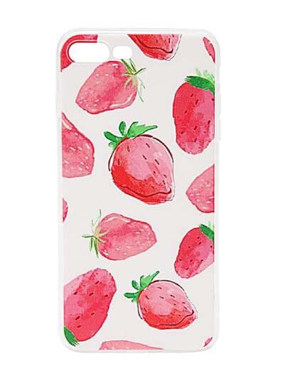 Strawberry Stampa caso più iPhone 7