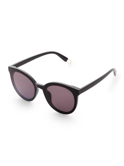 Black Frame Grey Lens Sunglasses