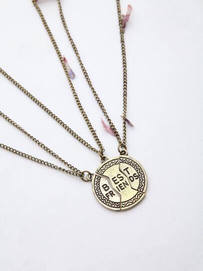 Модное ожерелье с буквами
