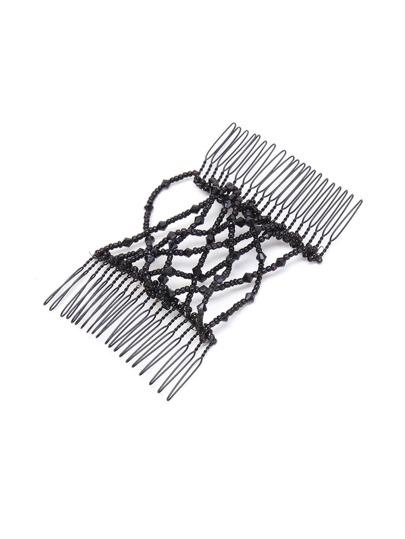 Accesorio de pelo con diseño de abalorios en color al azar 1 pieza