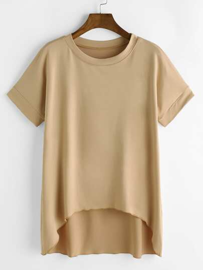 Dip Hem T-shirt