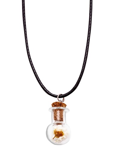 Flower Pendant Casual Necklace