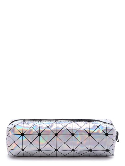 Geometric Pattern Makeup Case