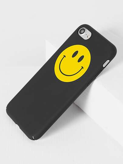 Case nero Smile Face iPhone 7