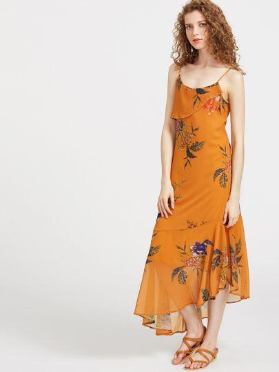Платье с длинным рукавом от Cami