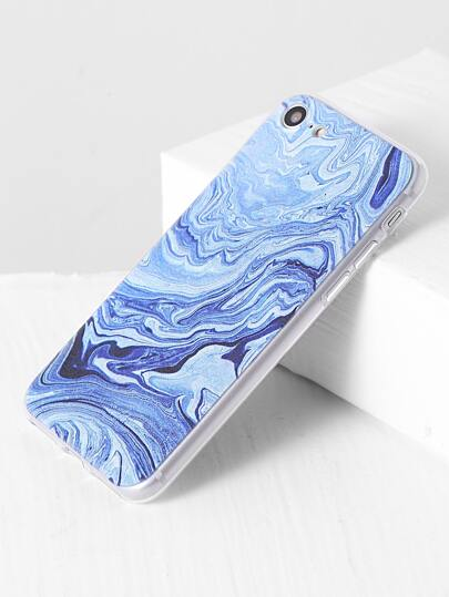 mer bleue pour iphone 7 cas