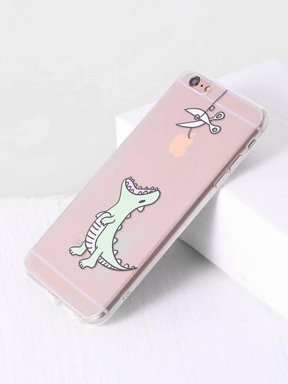 Dinosaur Print Cute iPhone 6plus/6s Plus Case