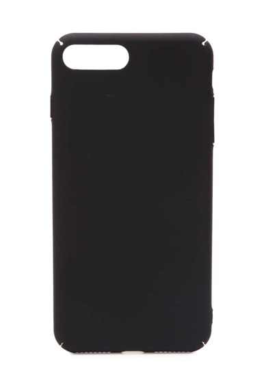 Caso Inoltre Plain iPhone 7 In Black