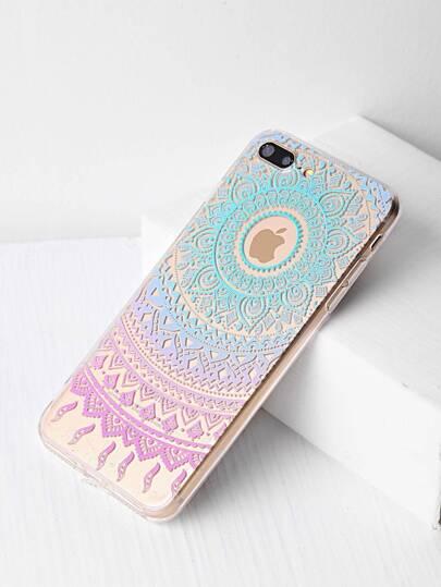 Cover per iphone 7 con modello tribale