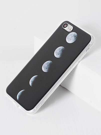 Black Total Solar Eclipse Pattern iPhone 7 Case