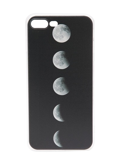 Black Total Solar Eclipse Pattern iPhone 7plus Case