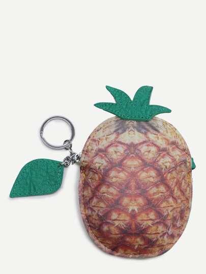 Sac à main modèle ananas mignon