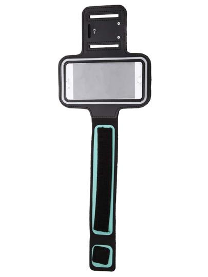 Schwarzes 4,7 Zoll Handy Arm Gürtel