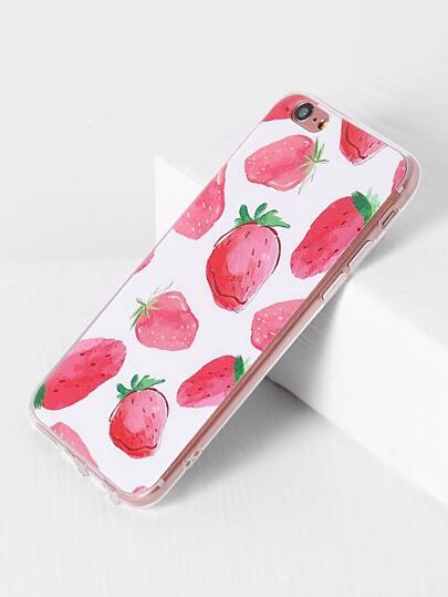 Erdbeer-Druck iPhone 6 / 6s Fall