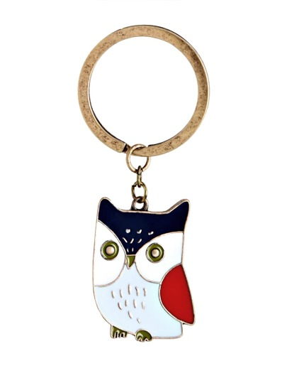 Owl Shape Cute Keychain