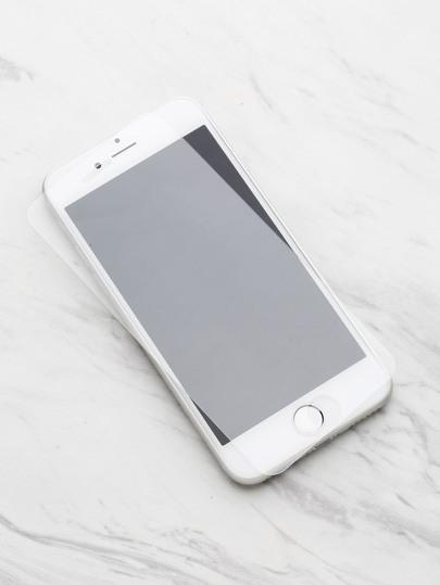 Protecteur d'écran de film en verre trempé pour iPhone 7
