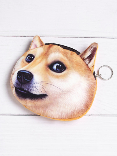 Dog Shaped Cute Purse