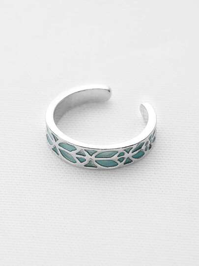 Luminous Delicate Cuff Ring