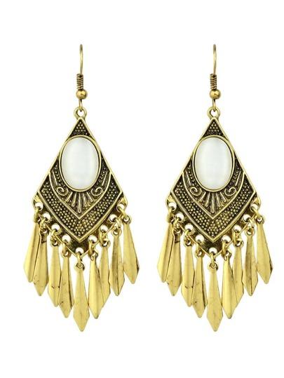 Orecchini alla moda - oro