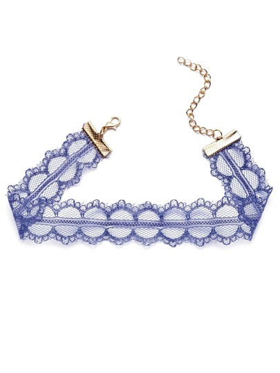 Delicate Lace Choker Necklace