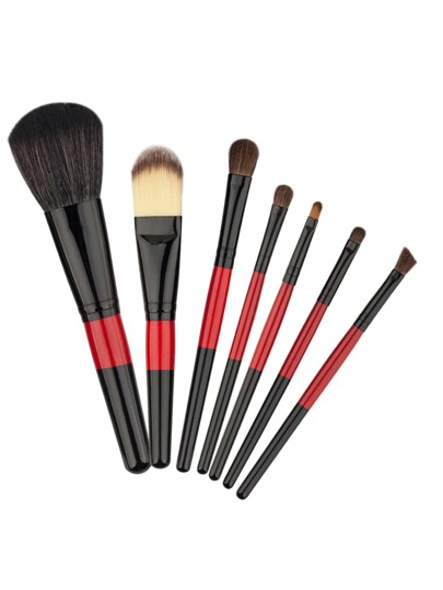 Two Tone Handle Delicate Cosmetic Brush Set