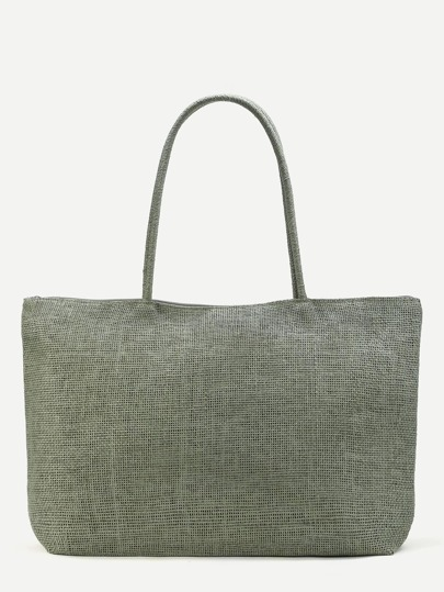 Beach Style Straw Tote Bag