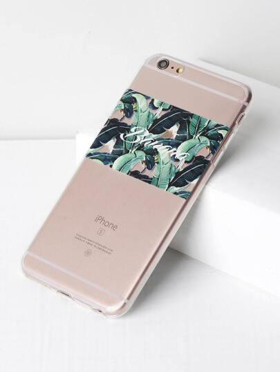 Funda para iPhone 6 Plus/6s Plus con estampado de selva