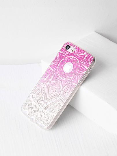 Ombre tribale modello chiaro iPhone 7 Caso