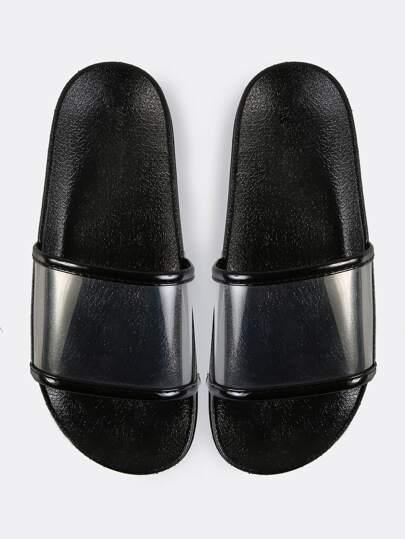 Sandales avec orteil ouvert