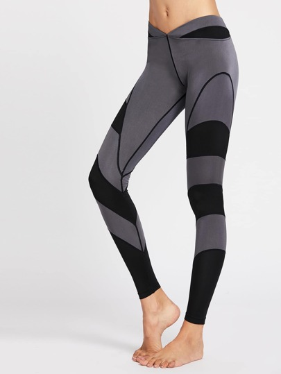 Leggings color-block